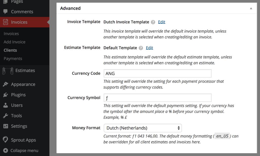 client payment options